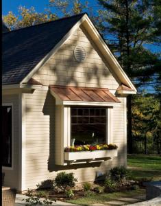 Garden replacement window installation